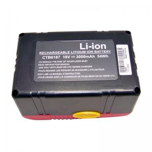 Batterie Snap on CTB4187 CTB4185 CTB6187 LI-ION 18V 3.0Ah(remplacement)