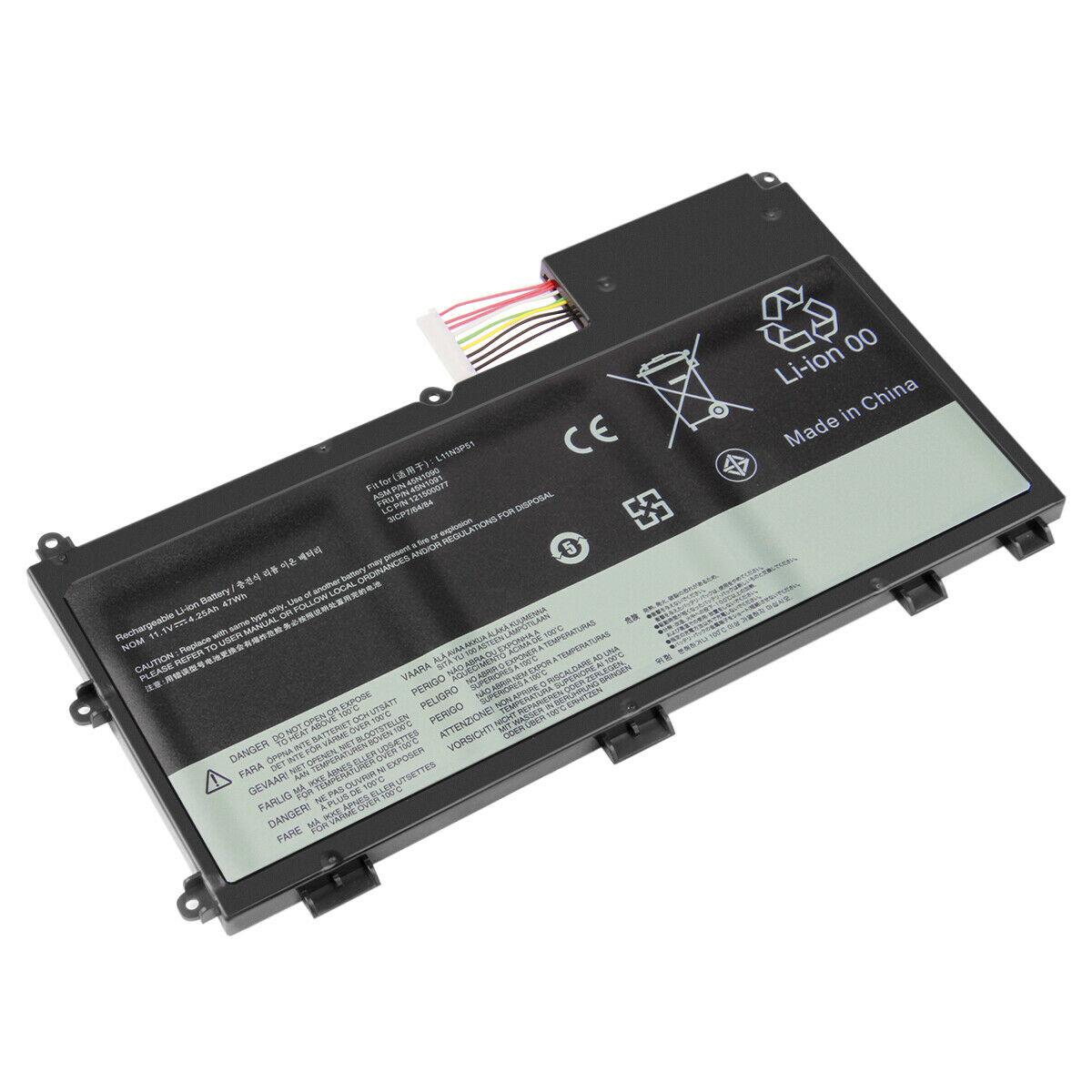 Batterie pour 4250mAh Lenovo ThinkPad T430U Ultrabook L11S3P51(compatible)