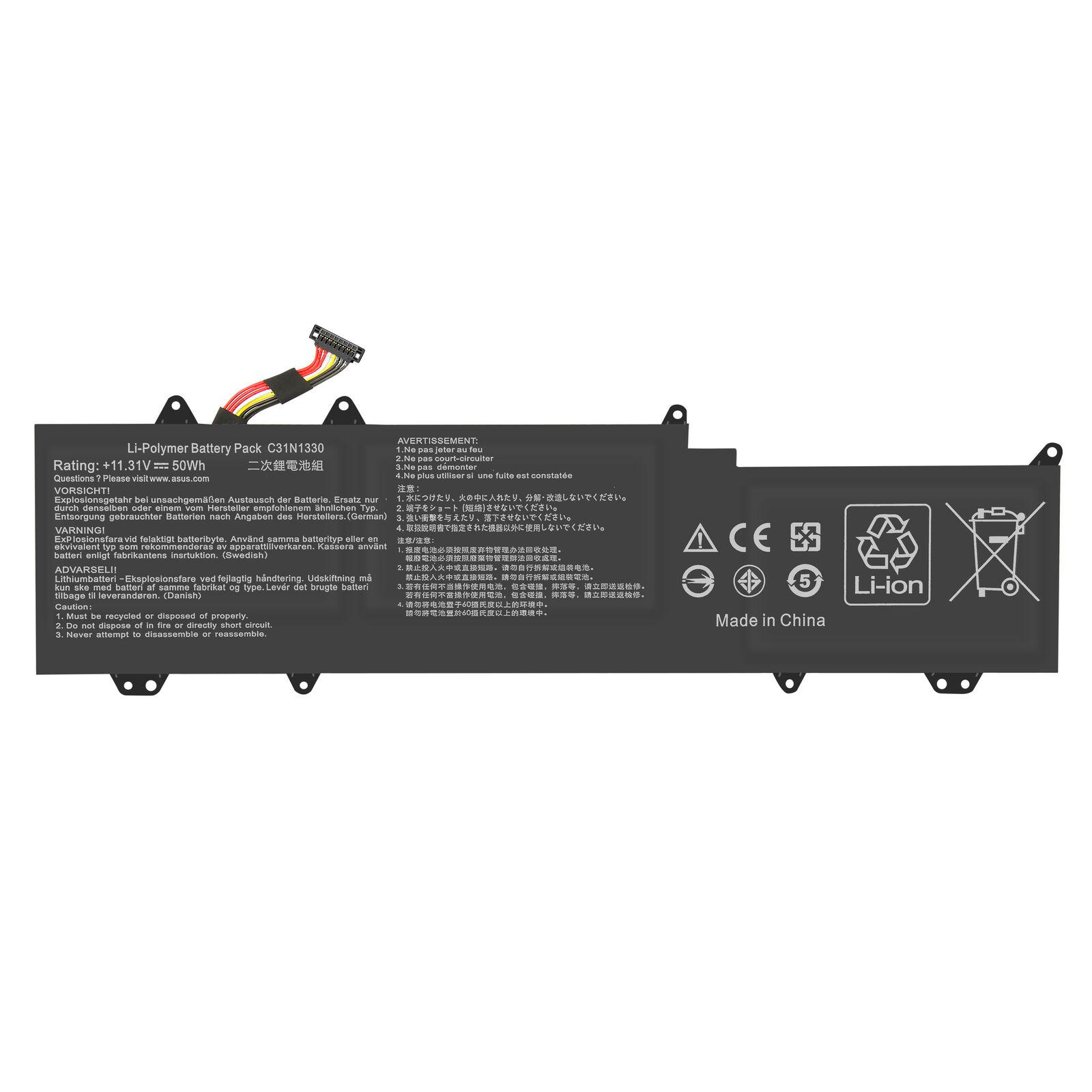 Batterie pour Asus ZenBook UX32L UX32LA UX32LN C31N1330 C31Po95 4400mAh(compatible)
