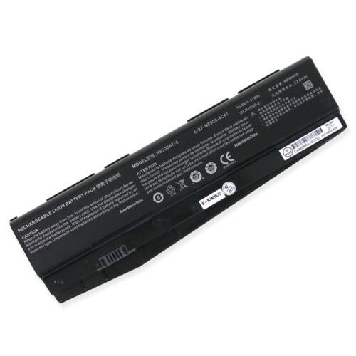 Batterie pour N850BAT-6 Clevo 6-87-N850S-4U41 3ICR19/65-2 6-87-N850S-6U71(compatible)