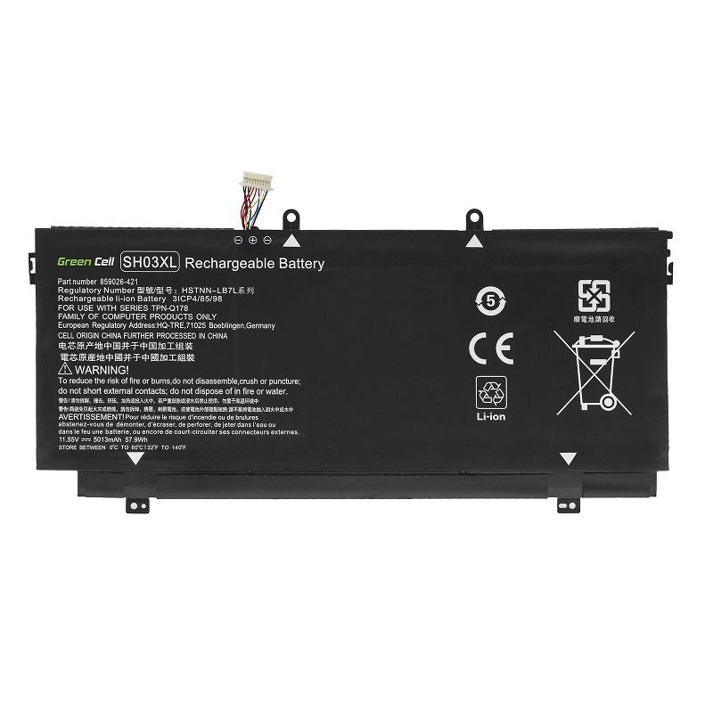 Batterie pour HP Spectre x360 13-AC037NG 13-AC037TU 13-AC038NG 13-AC038TU(compatible)
