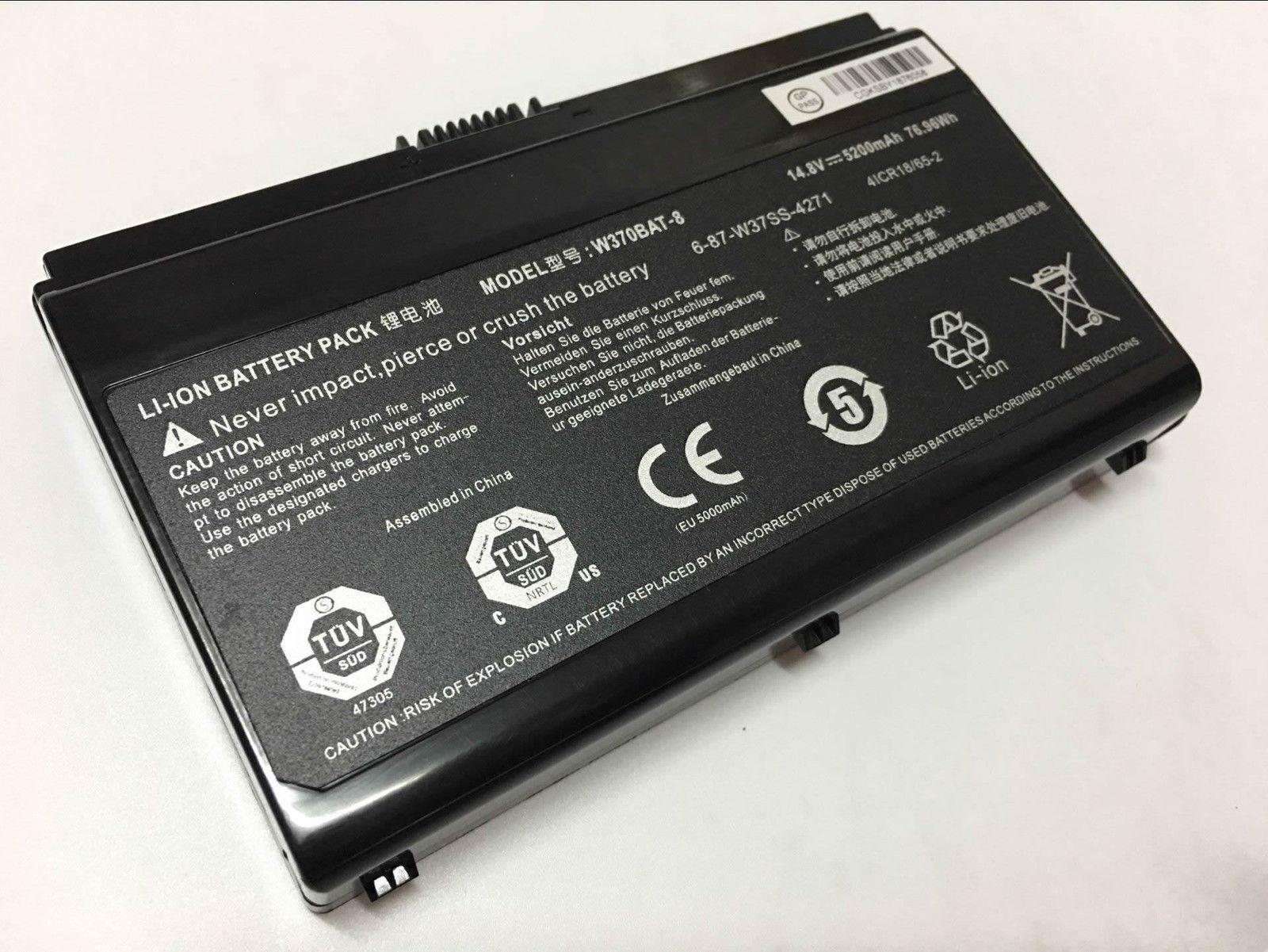 Batterie pour CLEVO W350ET W350ETQ W350SK W350SKQ W350SS W350ST W350STQ(compatible)